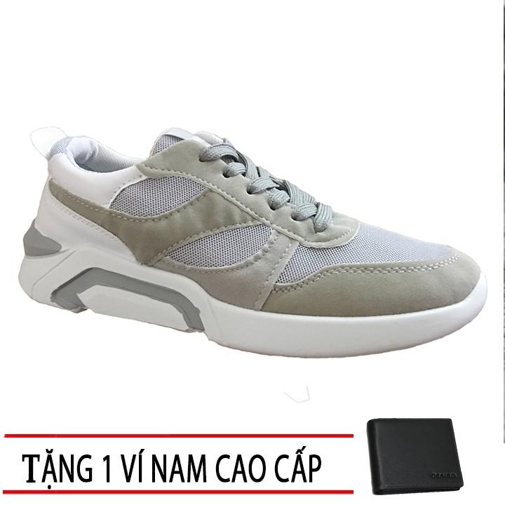 [FREESHIP] Giày sneaker nam Cao Cấp mẫu mới +1 Ví Nam T1801XM - 2769002 , 1198433992 , 322_1198433992 , 299000 , FREESHIP-Giay-sneaker-nam-Cao-Cap-mau-moi-1-Vi-Nam-T1801XM-322_1198433992 , shopee.vn , [FREESHIP] Giày sneaker nam Cao Cấp mẫu mới +1 Ví Nam T1801XM