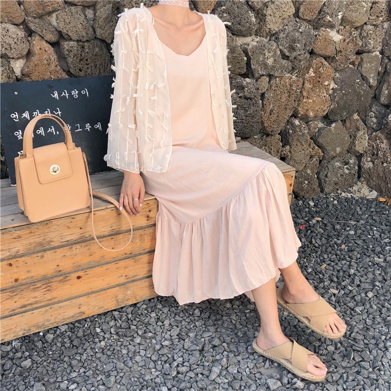 toonies15.vn 💋 Kem chống nắng khí chấtÁo khoác phổ biến cô gái Hàn Quốc nhà dễ thương phiên bản tốt quần áo mới mới