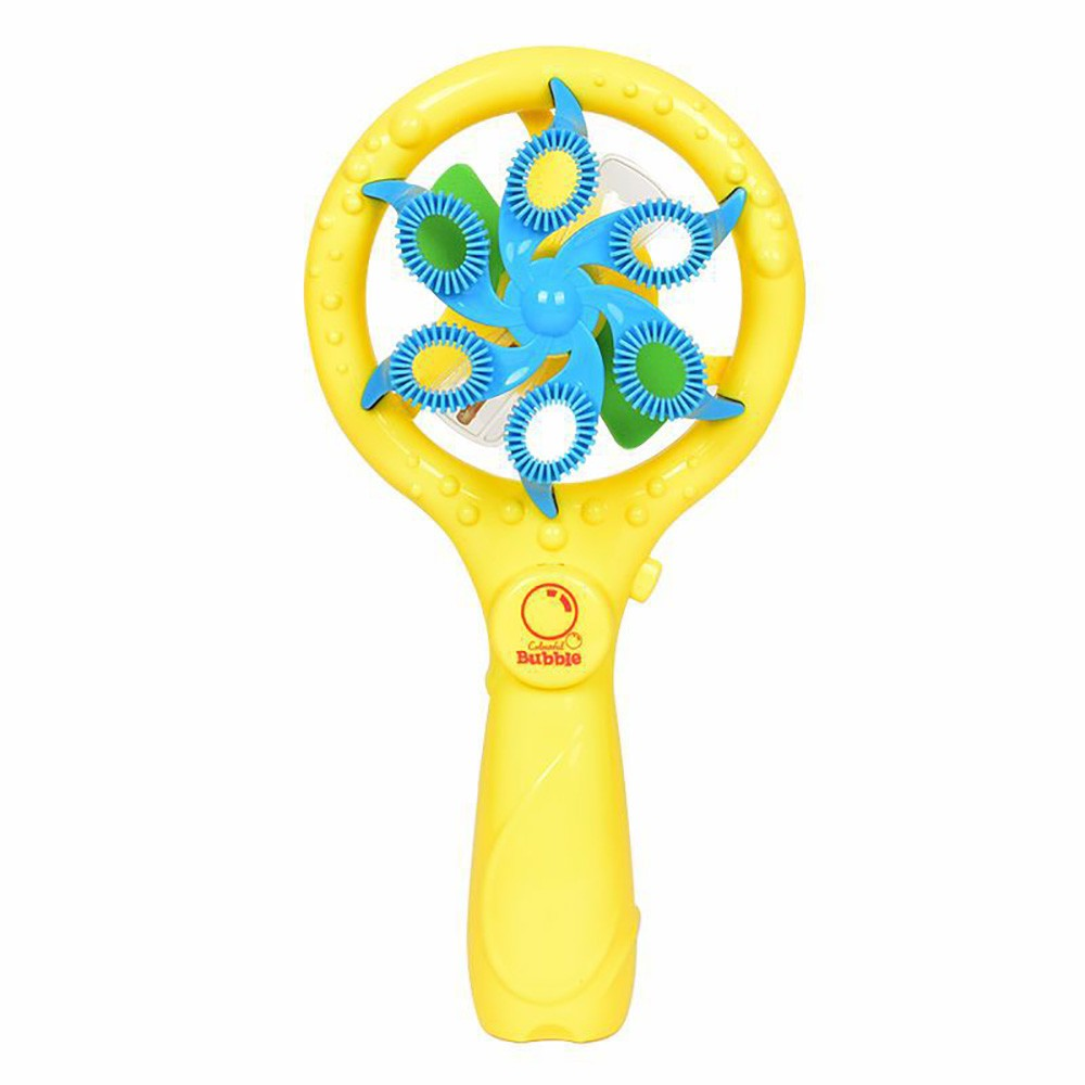 🎈lindsayll🎈 Summer Funny Music Magic Bubble Blower Machine Electric Mini Fan Kid Outdoor Toy