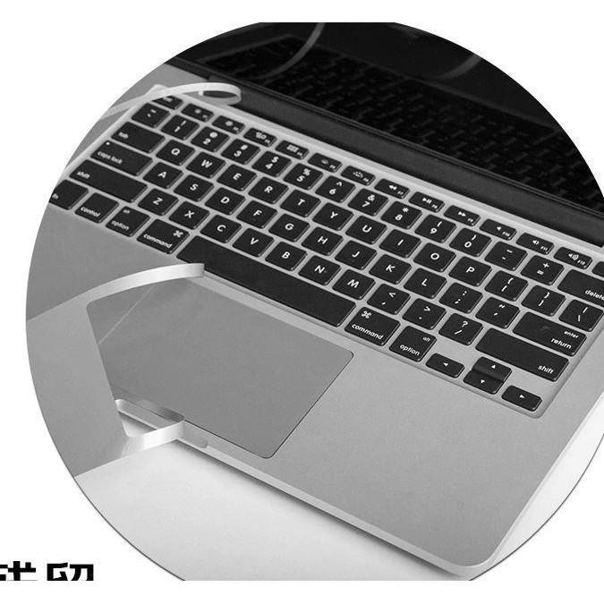 Bộ Dán Kê Tay Kèm Trackpad Full Viền Macbook Chính Hãng JRC 4 Màu