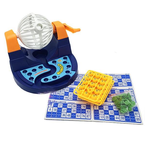[TOYS1507 giảm 10% ngày 15/07] Hộp đồ chơi lồng quay lô tô 90 số Bingo Lotto