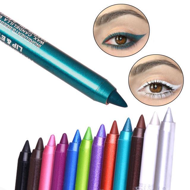 [Hàng mới về] Bút kẻ mắt trang điểm 12 màu tùy chọn DNM thumbnail
