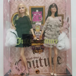 Set búp bê barbie juicy couture fullbox