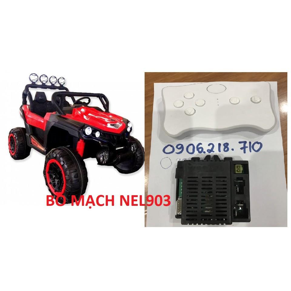 bo mạch và điều khiển xe ô tô điện trẻ em nel903 - xe ô tô điện trẻ em nel903 - mạch xe ô tô điện nel903