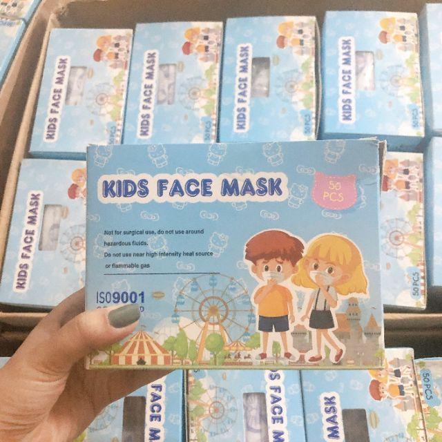 COMBO 10 KHẨU TRANG KIDS FACE MASK CHO BÉ