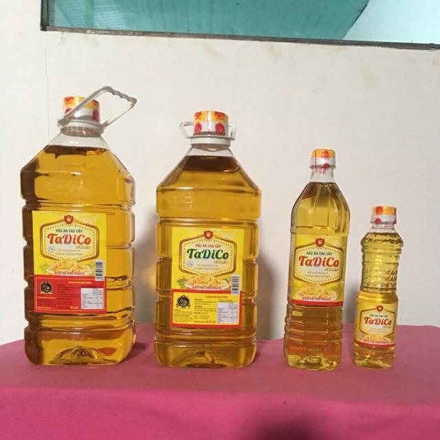 dầu đậu nành Tadico 5L
