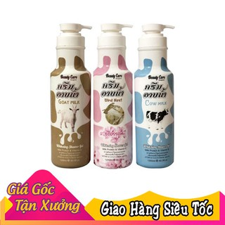Sữa tắm trắng da Beauty Care Goat Milk Cow Milk 1200ml thumbnail