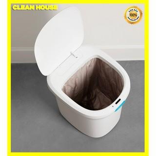 THÙNG RÁC THÔNG MINH SMART CLEAN HOUSE CẢM ỨNG 0.3S DUNG TÍCH 14L – 10L