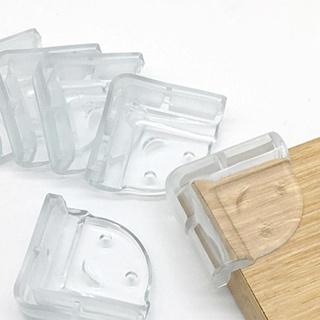 Miếng Bọc Góc Bàn Bịt Cạnh Bàn Silicon Cao Cấp Góc Vuông An Toàn Cho Bé thumbnail