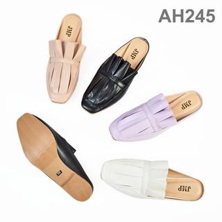 JMP - Giày Sục Họa Tiết Da Xếp - AH245