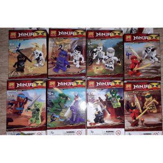 Lắp ráp 1 hộp LegoNinjago cuộc chiến bộ xương 31189