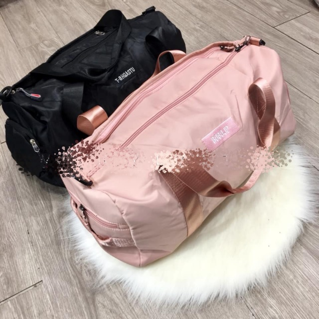 Túi Du Lịch 🔥FREESHIP🔥 Balo du lịch - Tập Gym - Đựng Đồ Cá Nhân PINK Size Lớn Có Ngăn Để Giày DL04