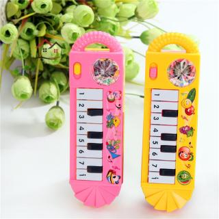 HYP Baby Infant Toddler Developmental Toy Plastic Kids Musical Piano Early Educational Toy Instrument Gift @VN