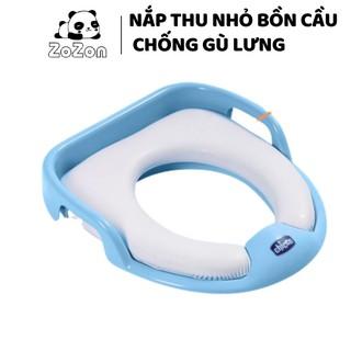 Bồn cầu cho bé chính hãng Chicco chống lạnh mông cho bé tự đi vệ sinh độc lập từ 1-5 tuổi bệ lót toilet có tay nắm Zozon thumbnail