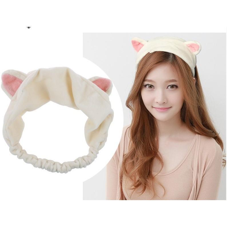 Băng đô tai mèo Etude - nhung mềm