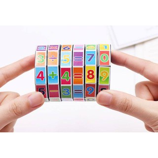 Khối Rubic Toán Học Cho Bé