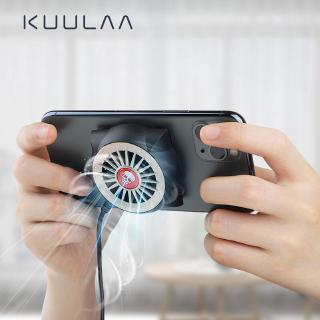 Hình ảnh [Mã CBEL06 giảm 20% đơn 50k] KUULAA Quạt Tản Nhiệt Có Đèn Led Cho for Xiaomi Iphone Samsung-0