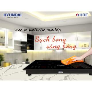 Bếp Đôi: Bếp Từ- Bếp Hồng Ngoại Hyundai HDE 1201. Bảo hành 12 tháng.