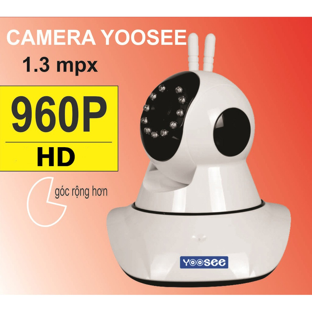 Camera YOOSEE HD960P - 1.3MPX - 3200071 , 652012226 , 322_652012226 , 818000 , Camera-YOOSEE-HD960P-1.3MPX-322_652012226 , shopee.vn , Camera YOOSEE HD960P - 1.3MPX