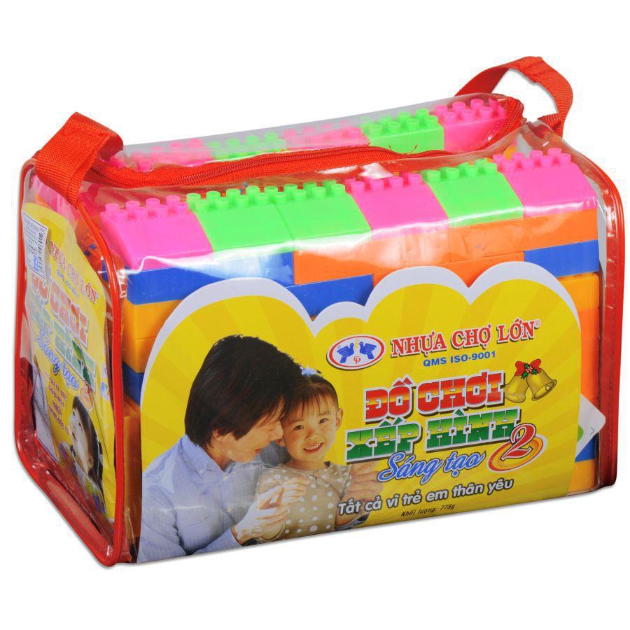 Bộ Xếp Hình Cho Trẻ Em 02 - M968-Lr