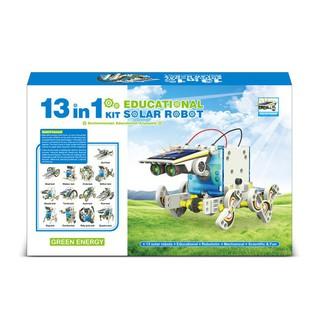 Bộ lắp ráp năng lượng mặt trời – Robot tương lai 13 in 1 (Educational Solar Robot Kit)(259) _dodunggiadinh8837