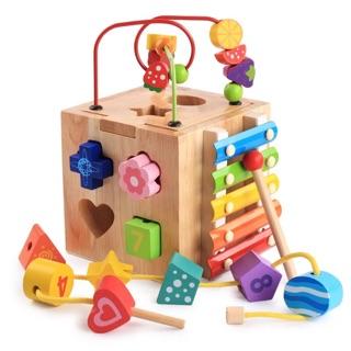 Đồ chơi gỗ thông minh dành cho bé 1-3 tuổi
