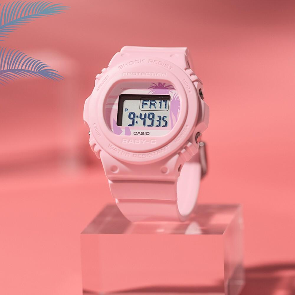 Đồng hồ nữ dây nhựa Casio Baby-G chính hãng Anh Khuê BGD-570BC-4DR