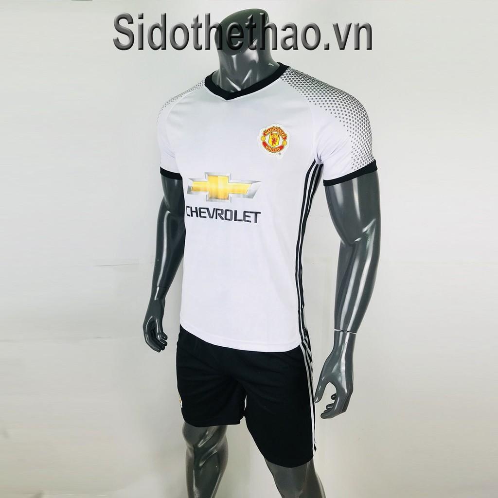 Bộ Đồ Đá Banh Mu Manchester United màu trắng phối đen - 2998748 , 826169514 , 322_826169514 , 160000 , Bo-Do-Da-Banh-Mu-Manchester-United-mau-trang-phoi-den-322_826169514 , shopee.vn , Bộ Đồ Đá Banh Mu Manchester United màu trắng phối đen