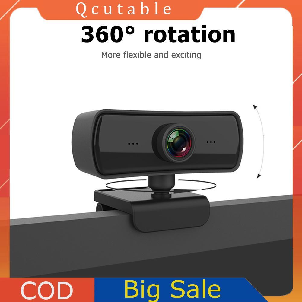 Webcam C3 Tự Động Focus 2k Hd Usb 2.0 Cho Máy Tính