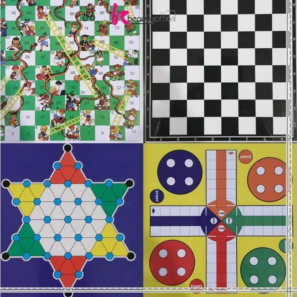 Bộ bàn cờ nam châm 5 trong 1 Kb-M59