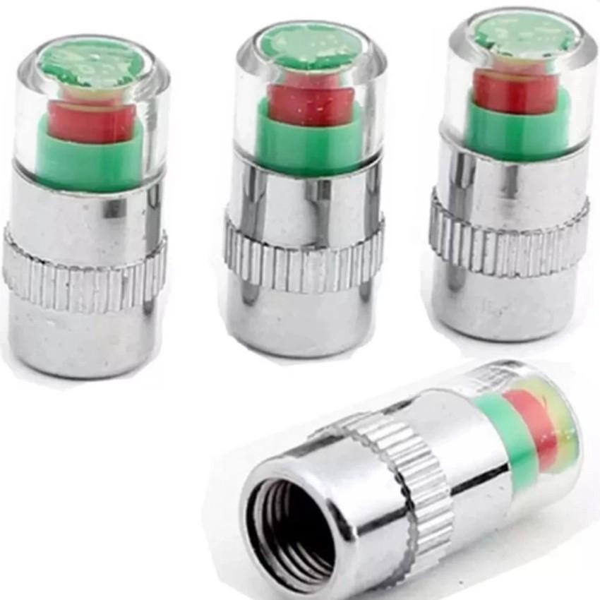 Bộ 4 nút gắn van hơi lốp xe cảnh báo áp suất lốp xe hơi. VRG007925