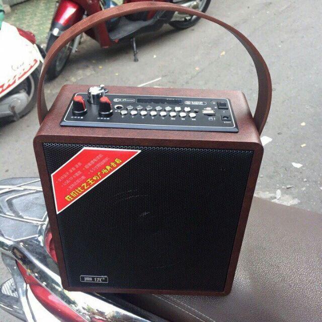 Loa gỗ bluetooth xách tay dây da hát karaoke tặng kèm micro không dây A061 300w mới về hàng hát cực - 2586161 , 475795893 , 322_475795893 , 695000 , Loa-go-bluetooth-xach-tay-day-da-hat-karaoke-tang-kem-micro-khong-day-A061-300w-moi-ve-hang-hat-cuc-322_475795893 , shopee.vn , Loa gỗ bluetooth xách tay dây da hát karaoke tặng kèm micro không dây A061