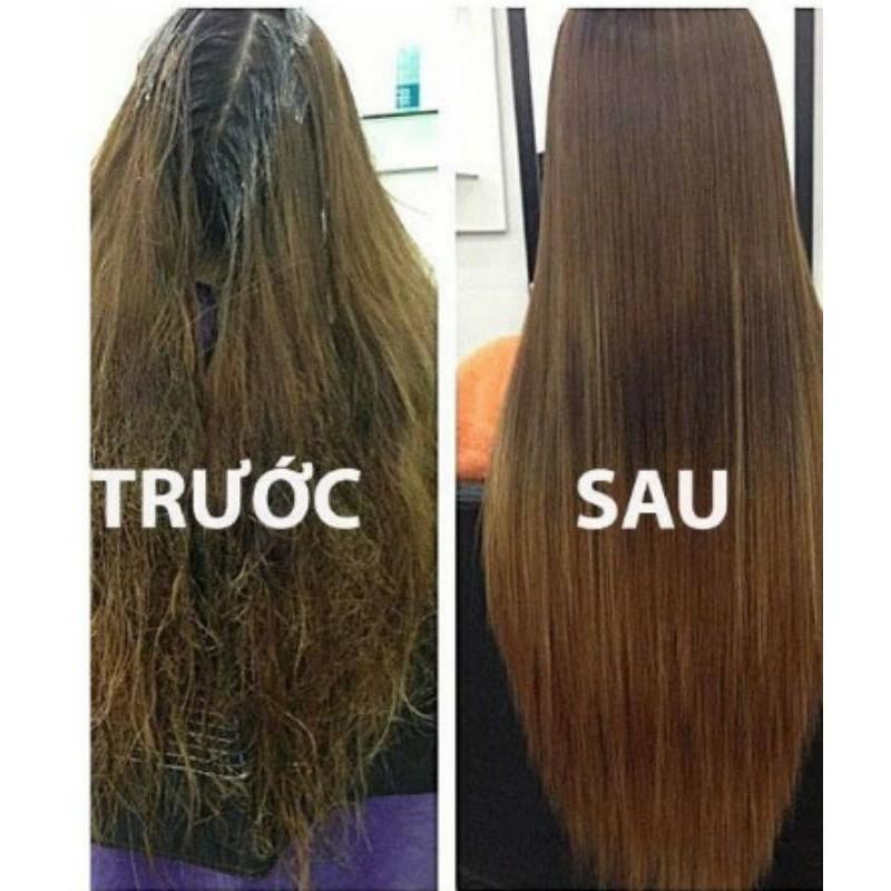 Kem ủ tóc phục hồi hư tổn Karseell Maca (500ml)