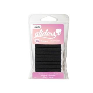 Bộ 16 dây cột tóc Tubes Gliders đen thumbnail