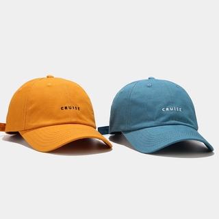 Hình ảnh LINJW 2021 New soft Fashion student adjustable cotton baseball cap-1