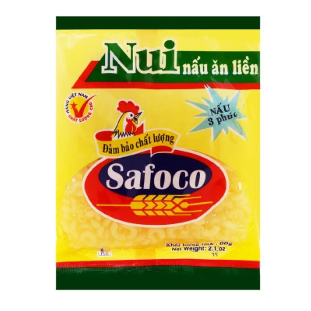 Nui nấu ăn liền Safoco 60g