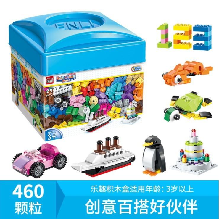 Bộ xếp hình Enlighten Build N Learn 2901 – 460 chi tiết