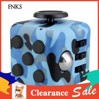 ☞SP Camouflage ABS Cube Anxiety Relief Focus Adult Kids Attention Therapy Dice