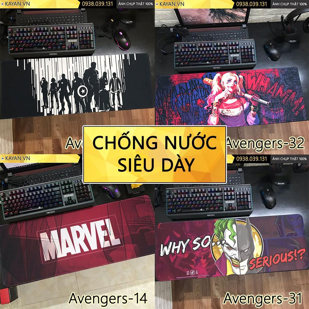 Miếng Lót chuột, bàn di chuột cỡ lớn Avengers