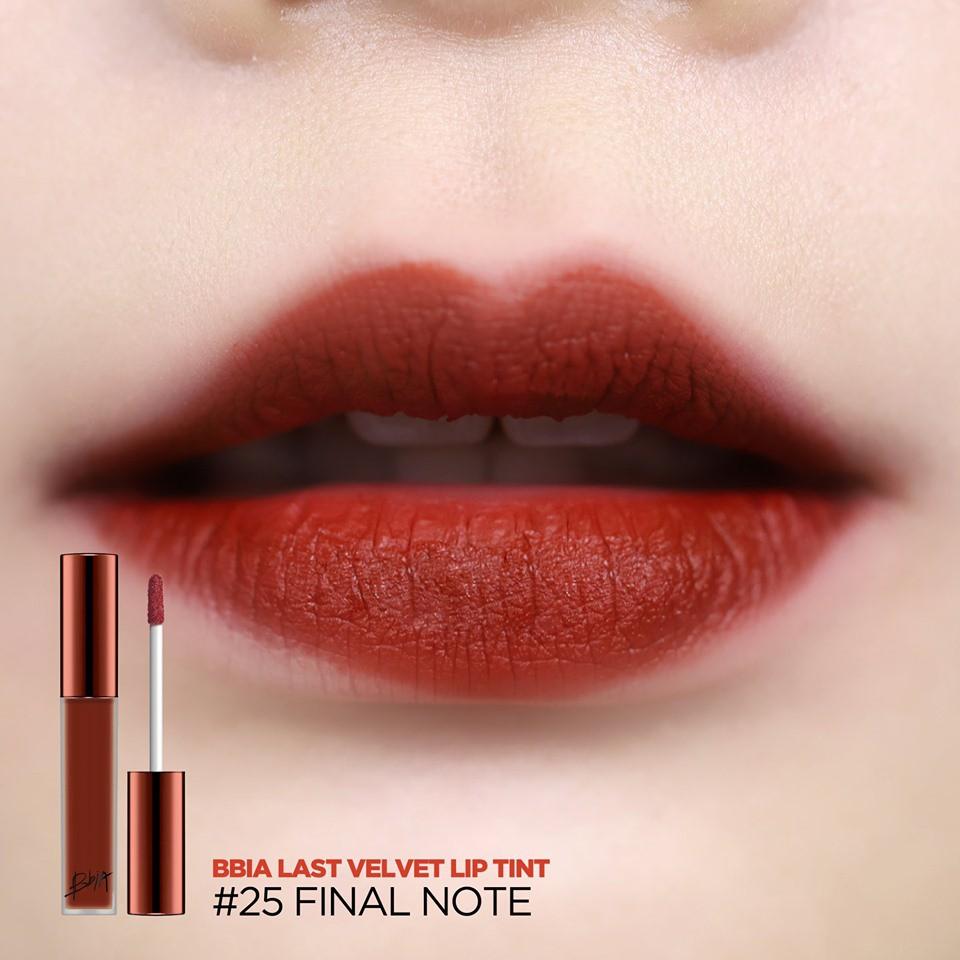Hình ảnh Son kem lì Bbia Last Velvet Lip Tint Version 5 5g (5 màu)21 R-4