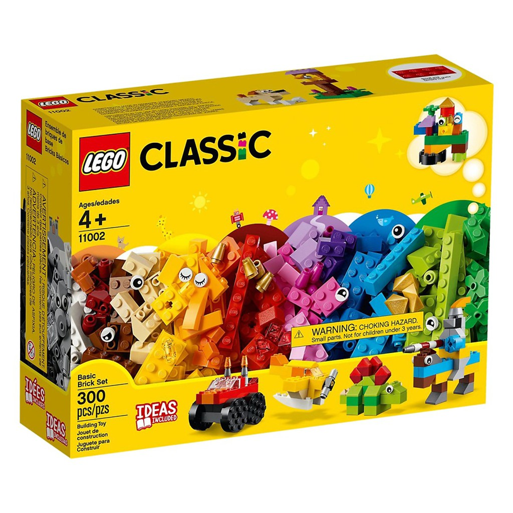 Đồ Chơi Lắp Ghép, Xếp Hình LEGO - Bộ Gạch Classic Cơ Bản 11002 giảm chỉ còn  584,000 đ