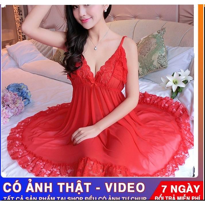 [🔥freeship 50k🔥TẶNG chip sexy[ bigsize 40-75kg váy ngủ nữ ren sexy cao cấp quần lót nữ gợi cảm đồ ngủ giá rẻ quyến rũ