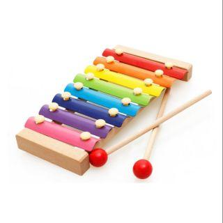 Đồ chơi đàn Piano Xylophone gỗ 8 thanh quãng