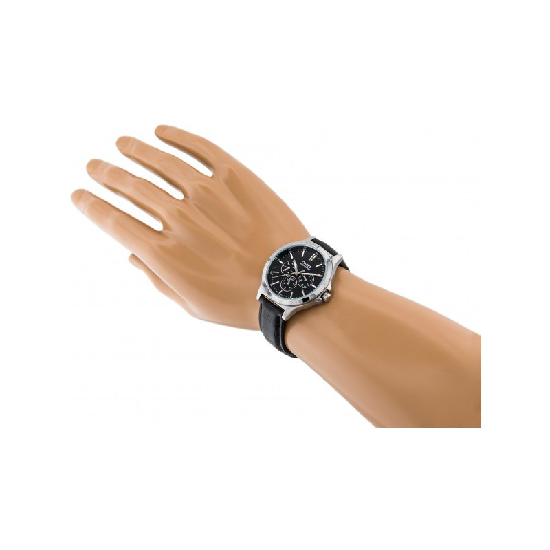 Đồng hồ nam Casio chính hãng MTP-V300, dây da