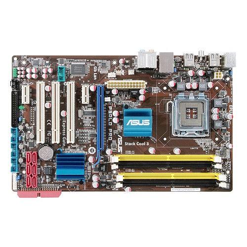 Bo mạch chủ ASUS P5QLD PRO P43 4 khe ram hỗ trợ tới Core2Quad