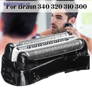 (tomj)For Braun 32B 32S 21B Series 3 310S 320S 340S 3010S Replacement Shaver Foil Head