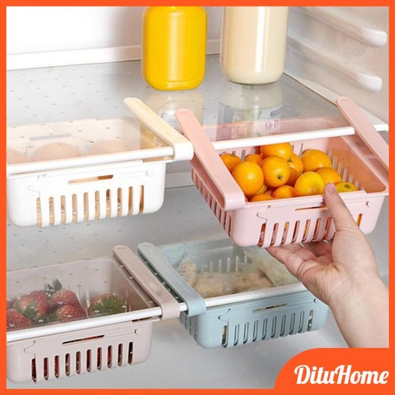 Khay Nhựa Gài Tủ Lạnh FREESHIP Rổ Để Đồ Tủ Lạnh Tiện Ích