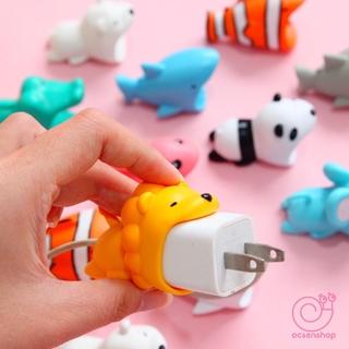 ĐỒNG GIÁ 30K bảo vệ đầu sạc pin điện thoại hình động vật dễ thương
