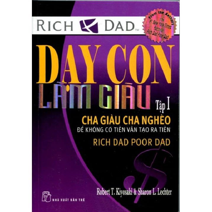 [Sách Thật] Cha Giàu, Cha Nghèo - Robert Kiyosaki