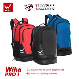 Balo thể thao Wika Pro 01 Chính Hãng, Balo bóng đá có ngăn đựng giày riêng biệt thumbnail